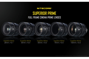 NITECORE Superior Prime Full Frame Cinema Objektivi