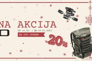 Božićna akcija GITZO 14.12.-03.01.2021.