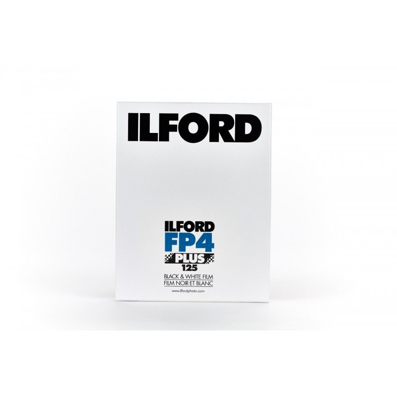Ilford Film FP4+ 8x10in 25