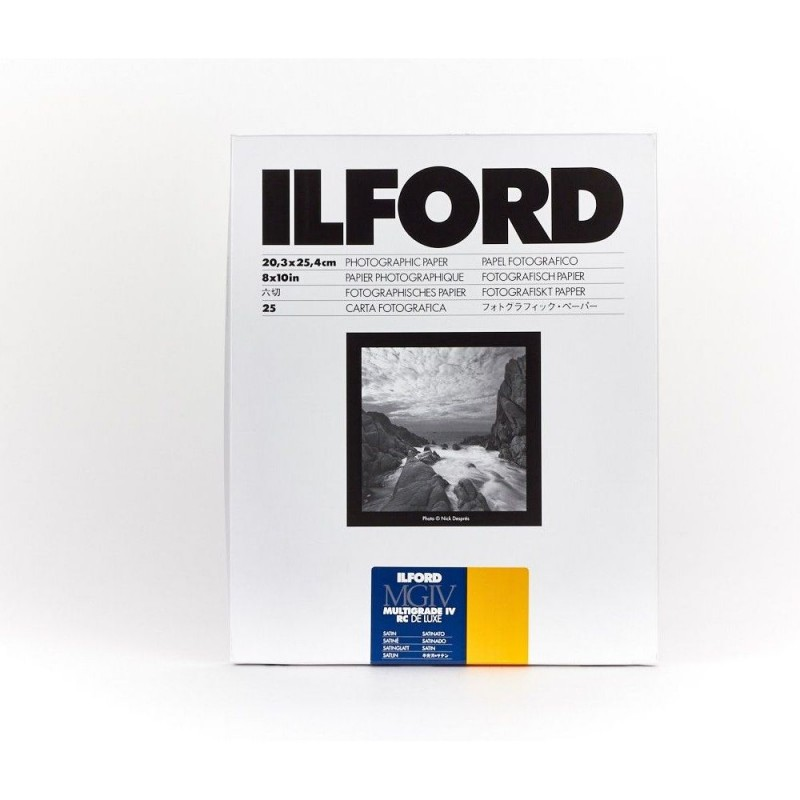 Ilford Fotopapir Multigrade IV RC 25M 50,8x61cm 1/50 (satin)