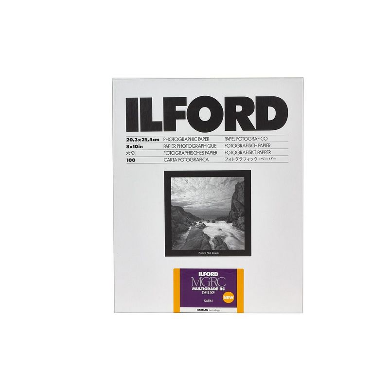 Ilford Fotopapir Multigrade RC Deluxe 25M 30,5x40,6/10 (satin)
