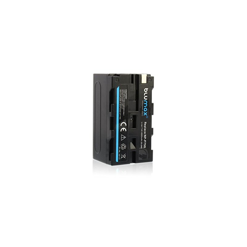 BLUMAX zamjenska Sony baterija NP-F750, 4000mAh, 7,4V