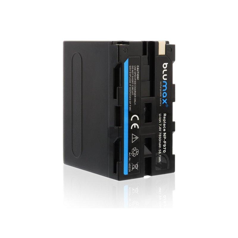 BLUMAX zamjenska Sony baterija NP-F970  7850mAh, 7,4V