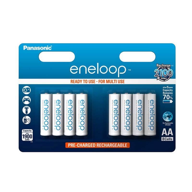 Panasonic ENELOOP baterije (2000mAh) AA/8 kom