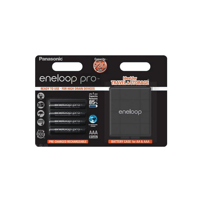 Panasonic ENELOOP PRO baterije (930mAh) AAA/4 kom + KUTIJICA