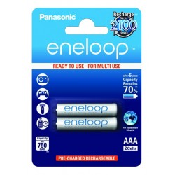 Panasonic ENELOOP baterije (750mAh) AAA/2 kom