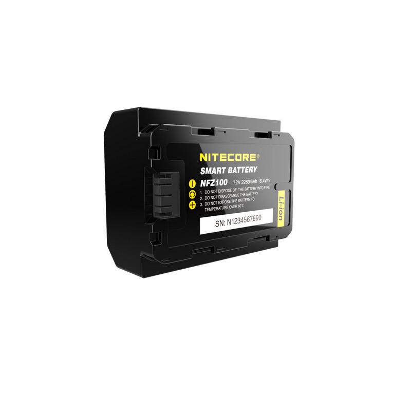 NITECORE zamjenska Sony baterija NP-FZ100, 2280mAh, 7.2V