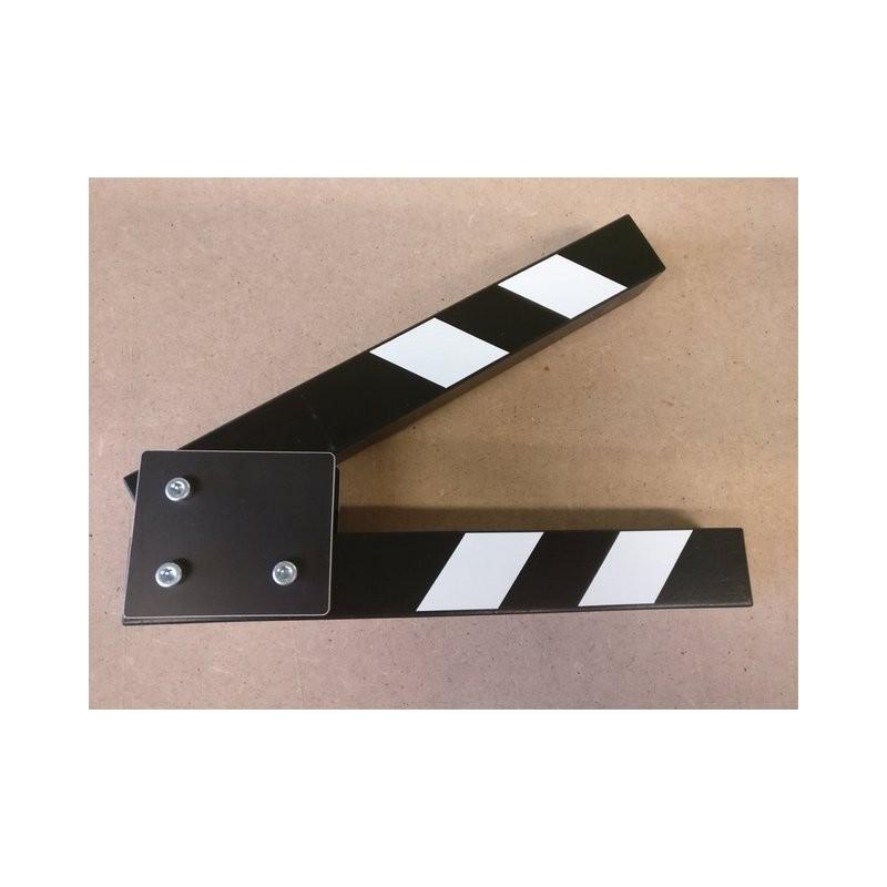 Filmska klapa - rezervni dio STICKS (Crno/bijela) 19cm