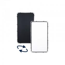 Lastolite Skylite Rapid 1,1x2m tkanina Black/White (Crna/Bijela)
