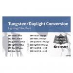 Fomei Filter Kit TUNGSTEN / DAYLIGHT PACK  / set gel filtera za rasvjetu 30x30cm /12komada