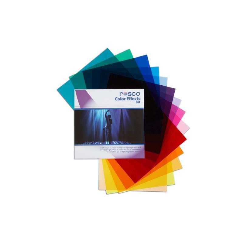 Rosco Filter Kit Color Effects / set gel filtera za rasvjetu 30x30cm
