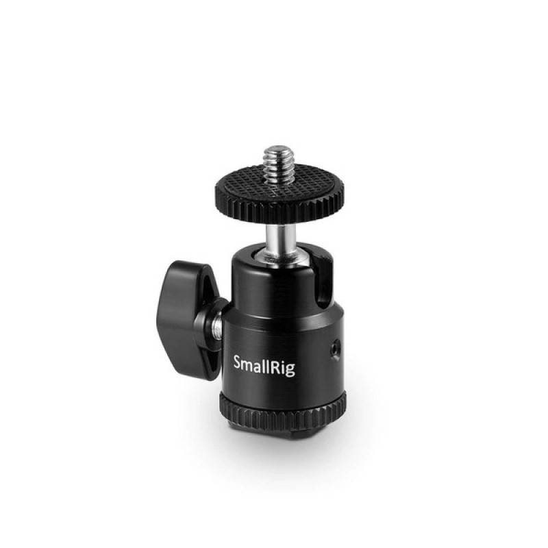 SmallRig New 1/4'' Camera Hot Shoe Mount w/ additional 1/4'' screw 761