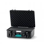 HPRC 2500 Plastični kofer (ispuna-spužva) Blue Bassano / Airplane cabin on