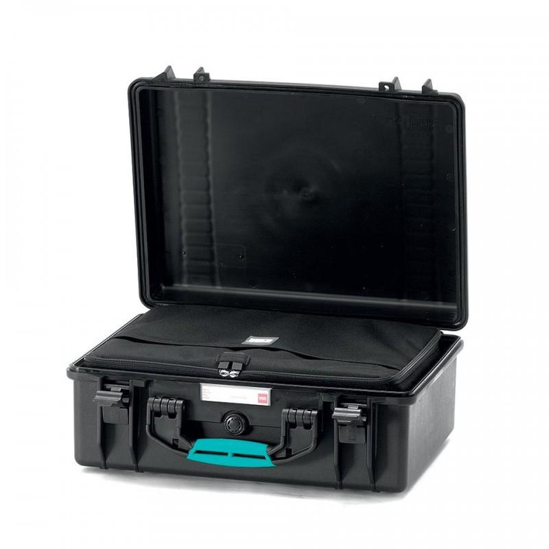 HPRC 2500 Plastični kofer (ispuna-torba) Blue Bassano / Airplane cabin on
