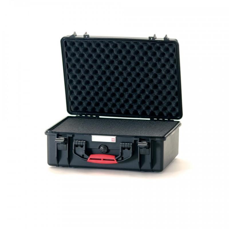 HPRC 2500C Plastični kofer (ispuna-spužva) Crni