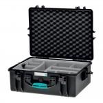 HPRC 2600 Plastični kofer (ispuna-second skin) Blue Bassano