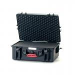 HPRC 2600C Plastični kofer (ispuna-spužva) Crni