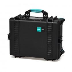 HPRC 2600W Plastični kofer s kotačima (prazan) Blue Bassano