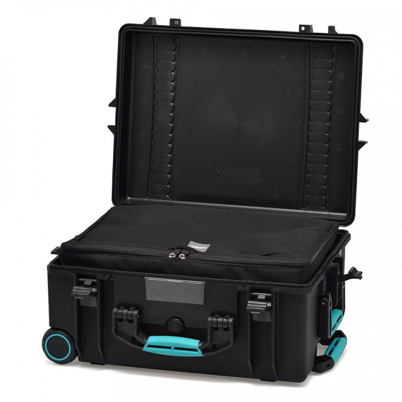 HPRC 2600W Plastični kofer s kotačima (ispuna-torba) Blue Bassano