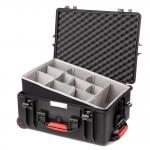 HPRC 2600W_SSKBLK Plastični kofer s kotačima (ispuna-second skin) crni