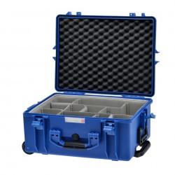 HPRC 2600W Plastični kofer s kotačima (ispuna-second skin) plavi