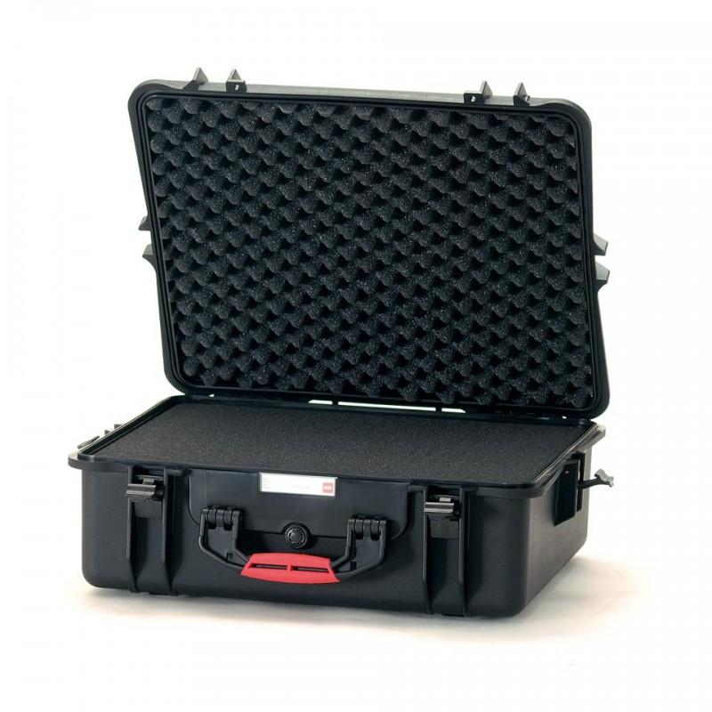 HPRC 2700C Plastični kofer (ispuna-spužva) Crni