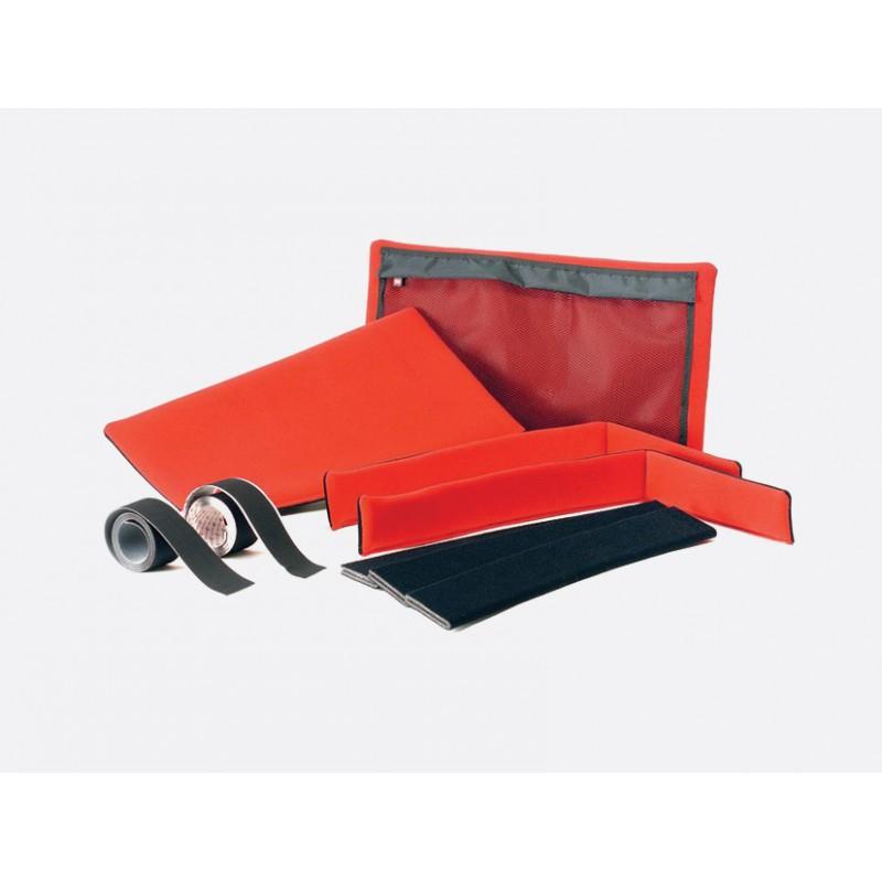 HPRC 2700W umetak - soft deck & dividers KIT (crno/crveni)