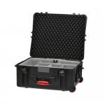 HPRC 2700WSSKBLK Plastični kofer s kotačima (ispuna-SECOND SKIN) Crni