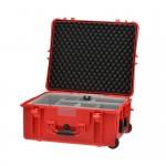 HPRC 2700WSSKRED Plastični kofer s kotačima (ispuna-SECOND SKIN) Crveni