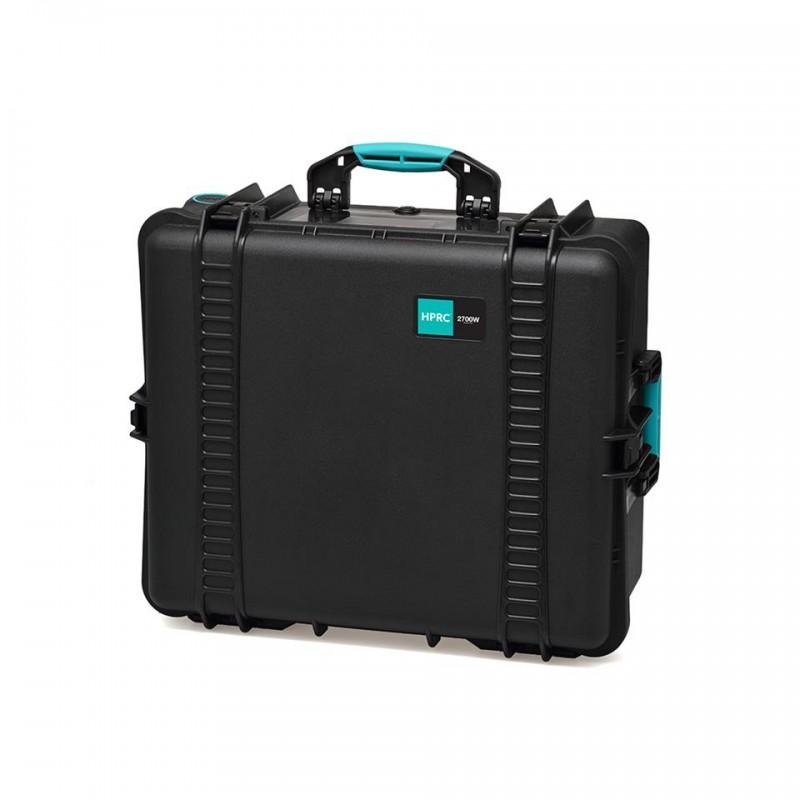 HPRC 2700W Plastični kofer s kotačima (prazan) Blue Basanno