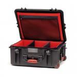 HPRC 2700WSFDBLK Plastični kofer s kotačima (ispuna-mekani umetak sa pregradama)