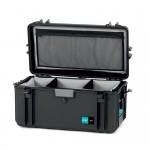 HPRC 4300 Plastični kofer (ispuna-mekani umetak sa pregradama) Blue Bassano