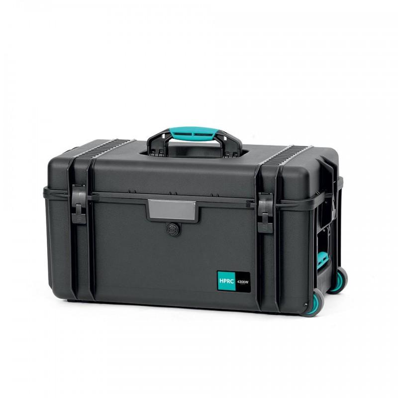HPRC 4300W Plastični kofer sa kotačima (prazan) - Blue Bassano