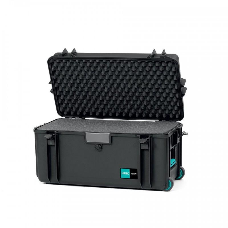 HPRC 4300W Plastični kofer sa kotačima (ispuna-spužva) Blue Bassano