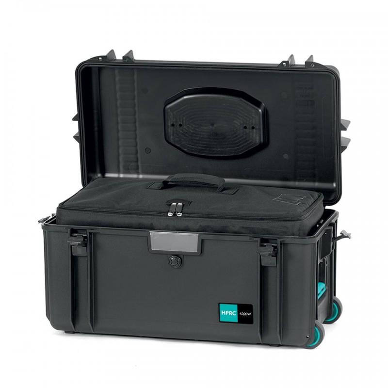 HPRC 4300W Plastični kofer sa kotačima (ispuna-torba) Blue Bassano