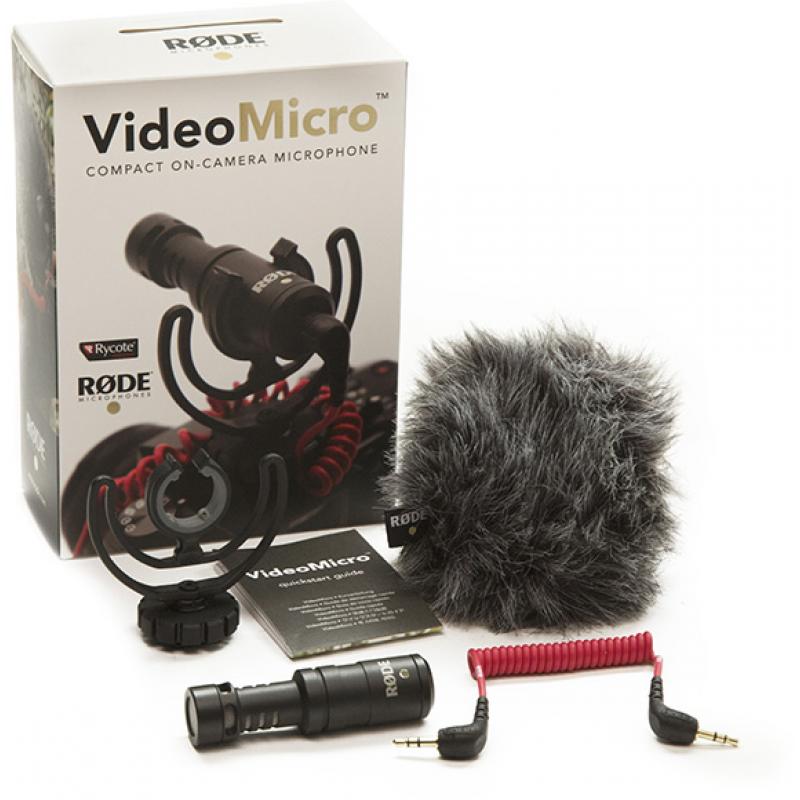 RODE VideoMicro mikrofon za kameru