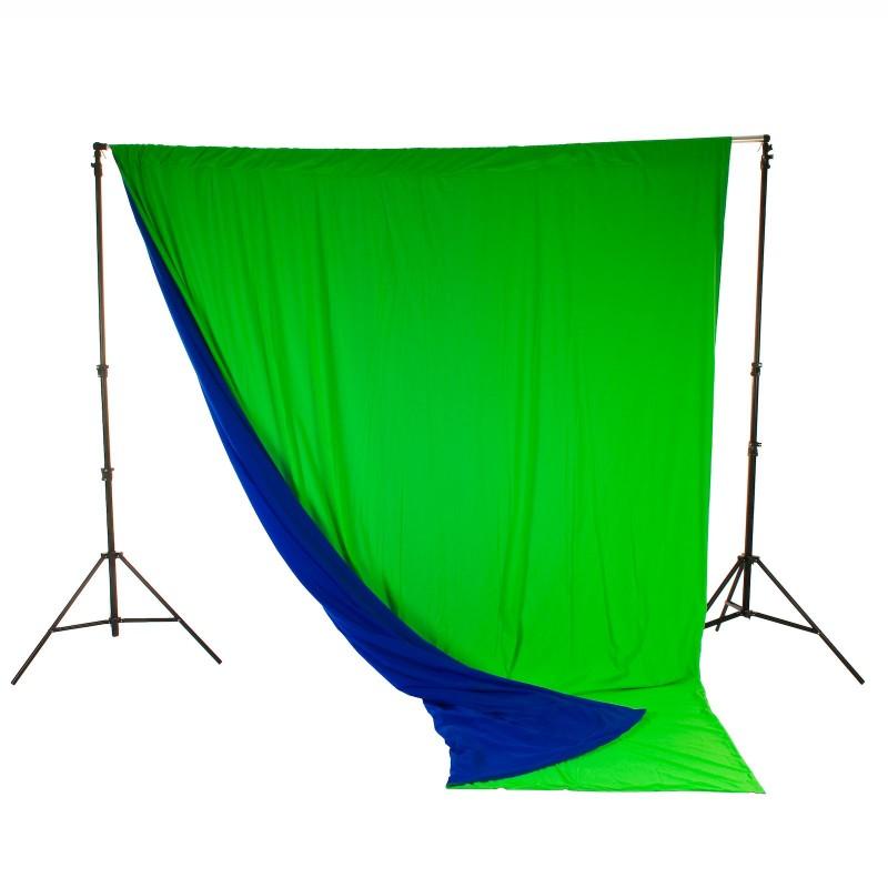 Lastolite Chromakey pozadina 3x3,5m (Plava/zelena)
