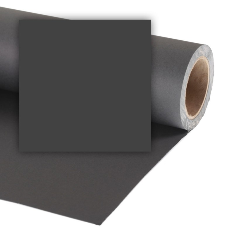 Colorama Pozadina 568 BLACK 1,35x11m
