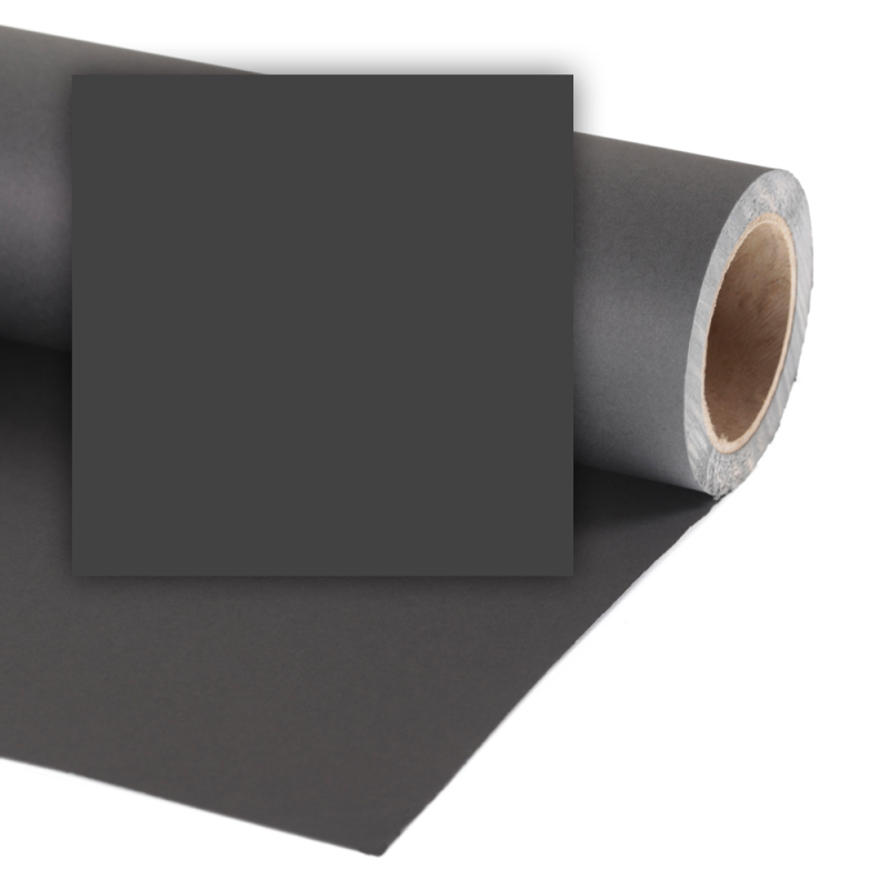 Colorama Pozadina 168 BLACK 2,72x11m (crna)