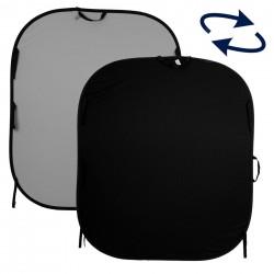 Lastolite Pozadina 56GB BLACK/MID 1,5x1,8m  - složiva pozadina na okviru