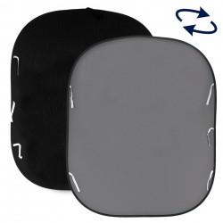 Lastolite Pozadina 67GB BLACK/MID GREY 1,8x2,15m  - složiva pozadina na okviru