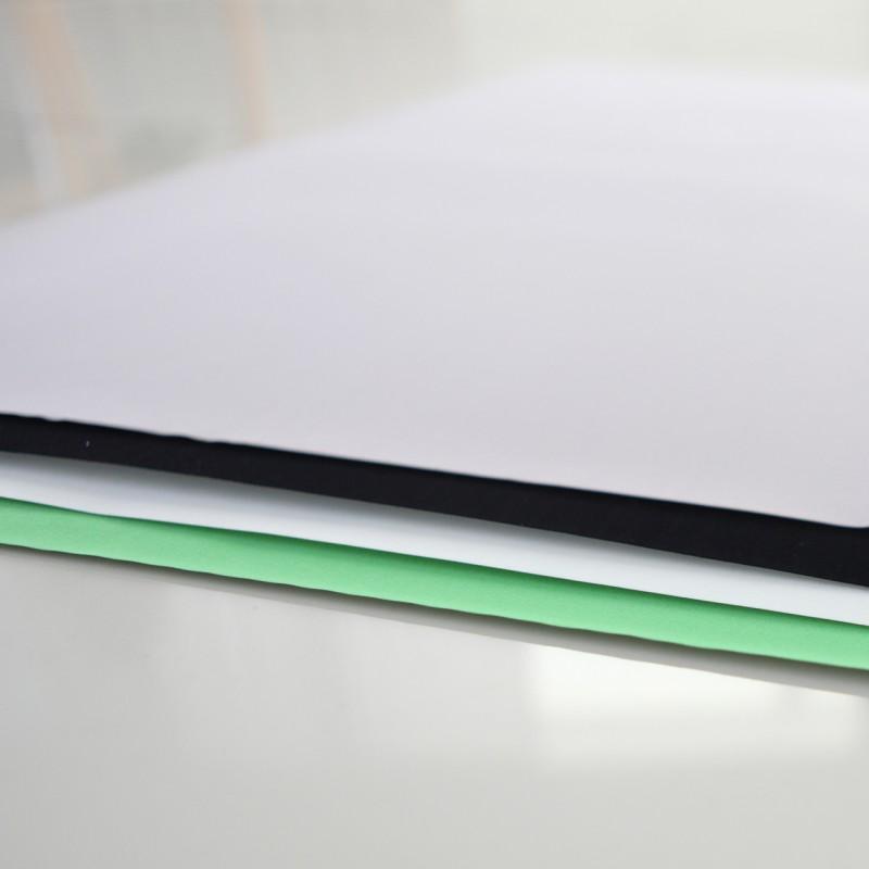 Orangemonkie  Ekstra pozadine za Foldio 2 i Foldio 2 PLUS (Bijela, Siva, Crna, Chromakey zelena)