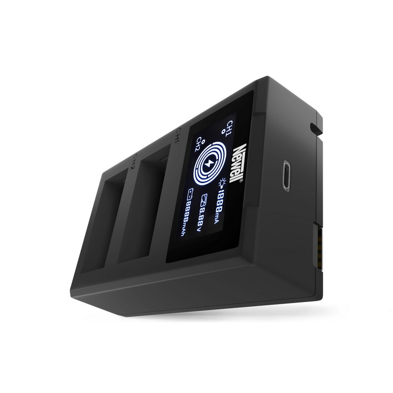 Newell Punjač Dual FDL-USB-C za Canon LP-E17