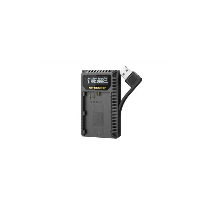 Nitecore Punjač USB UCN3 Dvostrani putni (Canon LP-E6)