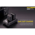 NITECORE USN1 Dual-slot putni USB punjač (Sony NP-FW50)