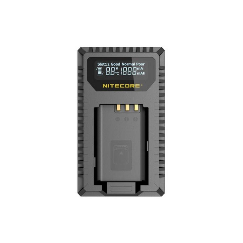 Nitecore Punjač USB USN2 dvostrani putni (Sony NP-BX1)