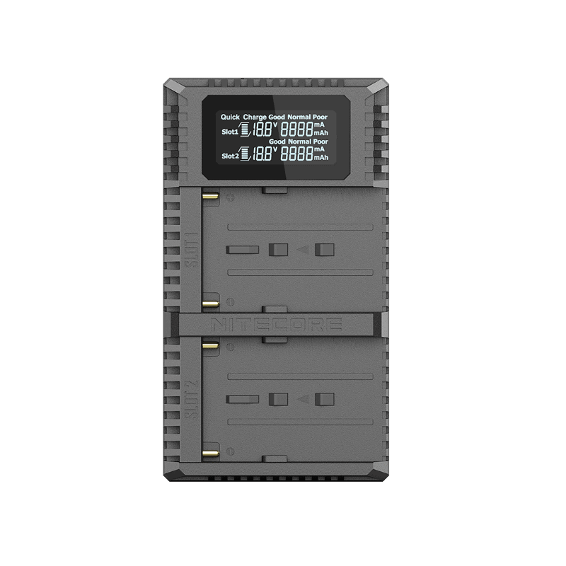 Nitecore Punjač USB USN3 PRO Dvostrani putni (Sony NP-F970)