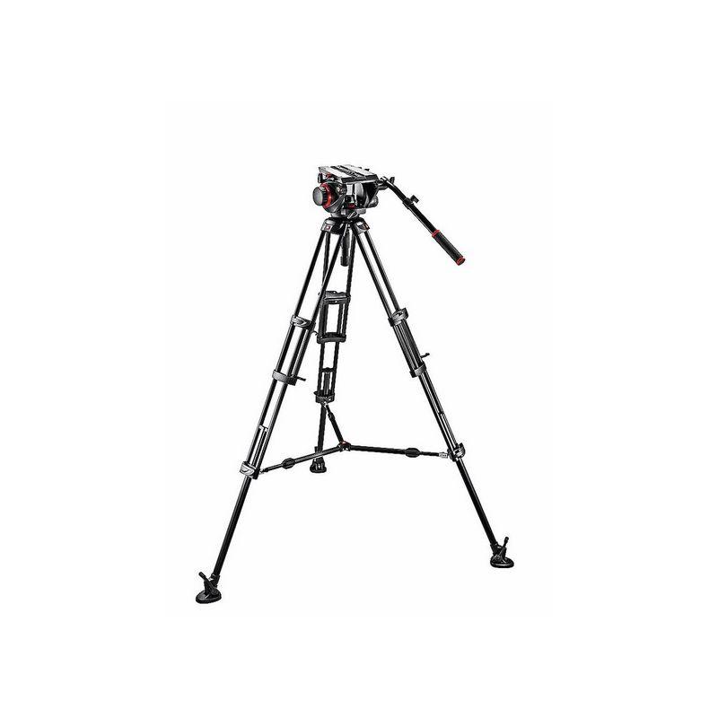 Manfrotto MVH509HD,545BK PRO Alu video stativ set
