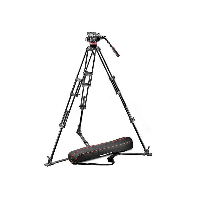 Manfrotto MVH502A,546GB-1Alu video stativ set