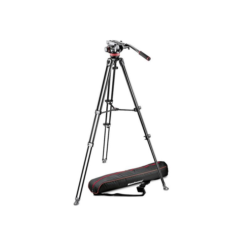 Manfrotto MVK502AM-1 Twin Alu video stativ sa MVH502 glavom
